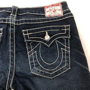 True Religion Disco Julie Big T Skinny Blue Jeans